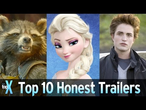 Top 10 Honest Trailers Videos - TopX Ep. 36