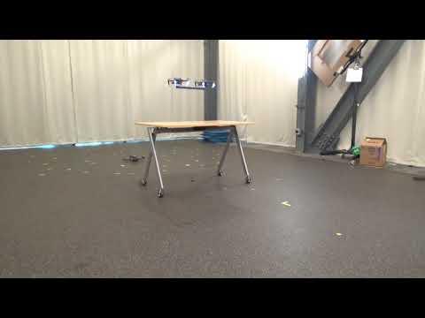 Cooperative Transportation using Small Quadrotors using Monocular Vision and Inertial Sensing