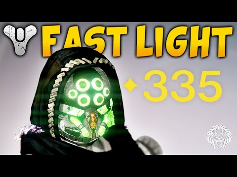 Destiny: HOW TO GET 335 LIGHT FAST! Quickest Ways to Hit Max Level (April Update)