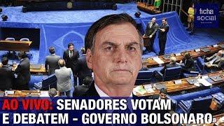 AO VIVO: SENADORES SE PRONUNCIAM SOBRE SERGIO MORO, GOVERNO BOLSONARO, STF, HACKER, PREVIDÊNCIA