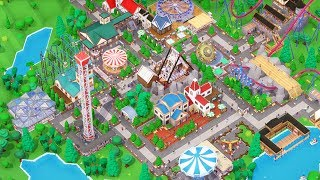 [LIVE🔴]  Building HUGE Roller Coasters & New Theme Park | Parkitect Gameplay