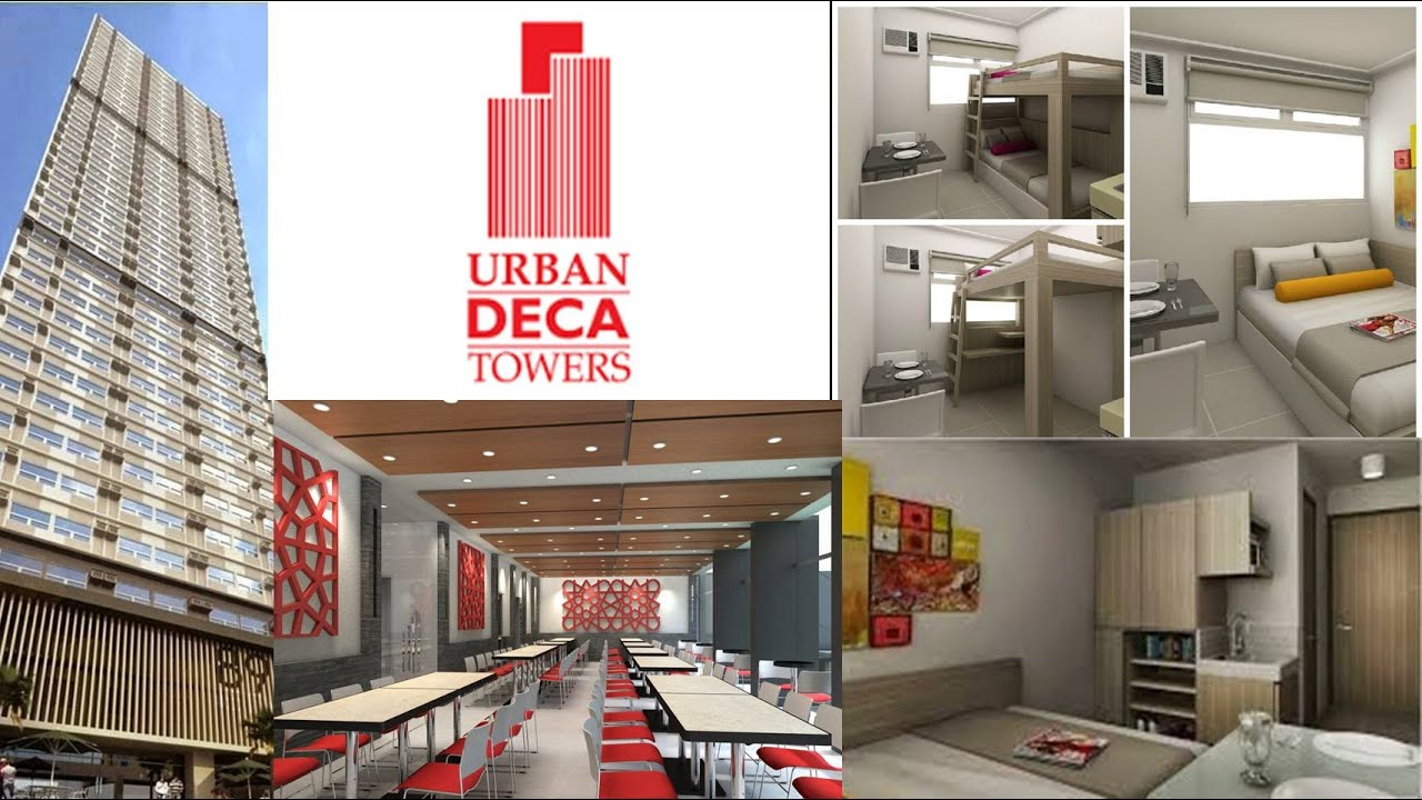 URBAN DECA TOWER EDSA: For Sale Studio Type Condo In Mandaluyong   YouTube