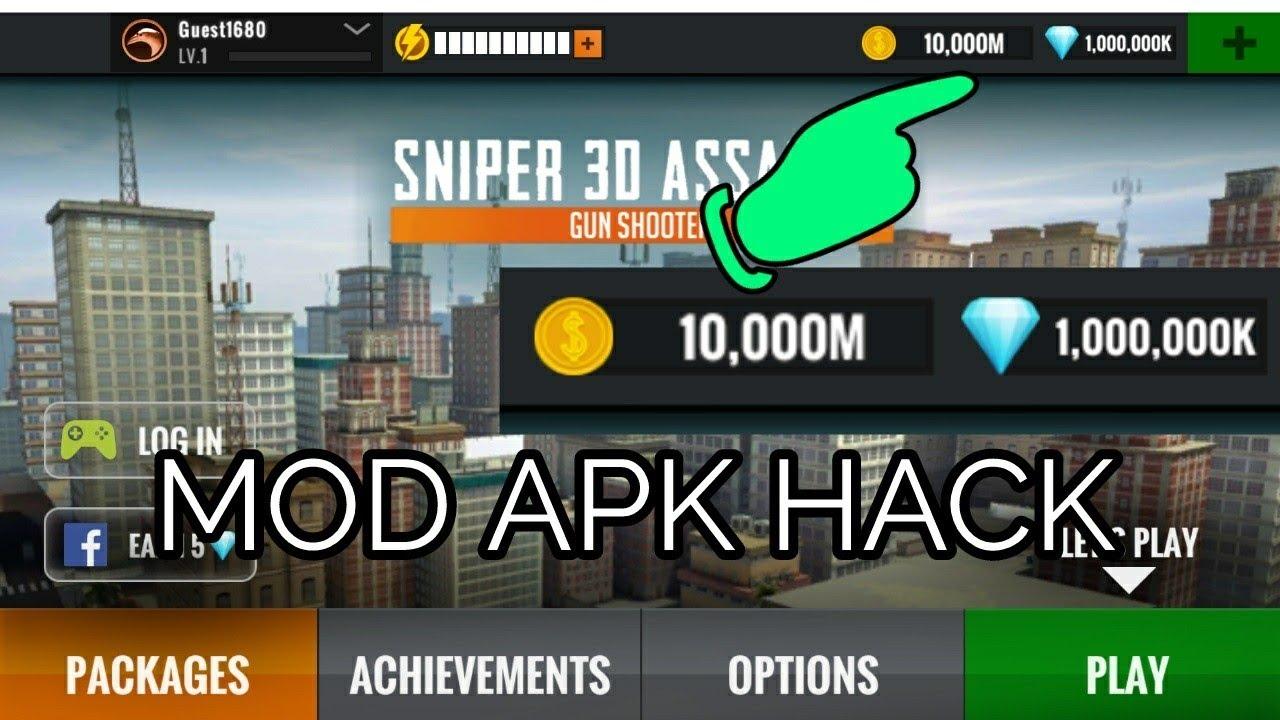 sniper 3d hack no root