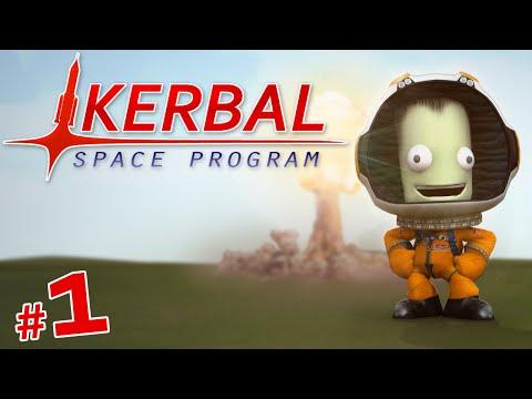Breaking The Atmosphere | Kerbal Space Program | #1