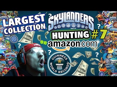 Guinness World Records: Largest Skylanders Collection! HUGE Amazon.com Hunting Haul #7 (What If...)