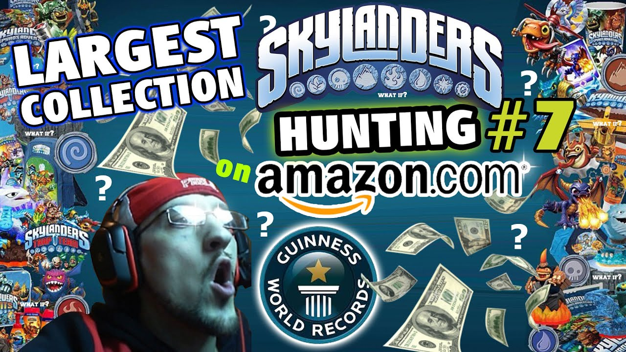 ae83eb24b Guinness World Records: Largest Skylanders Collection! HUGE Amazon.com  Hunting Haul #7 (What If...)