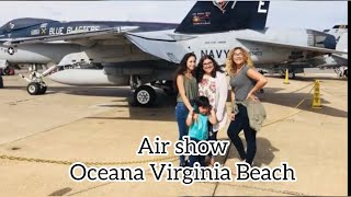 Matt's playtime Airshow at NAS Oceana Virginia Beach to see the Blue Angels