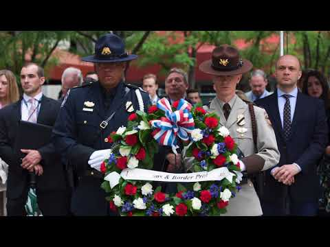 2018 Valor Memorial & Wreath Laying Ceremony