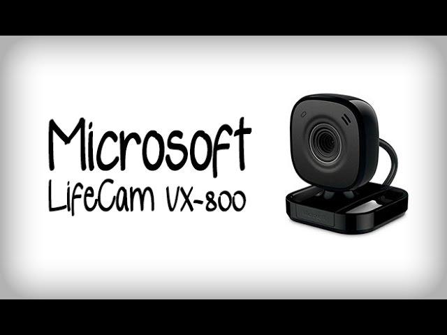 MICROSOFT LIFECAM VX-800 DRIVER DOWNLOAD