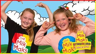 Sing along Head Shoulders Knees and Toes | Nursery Rhymes and Kids Songs | The Mik Maks