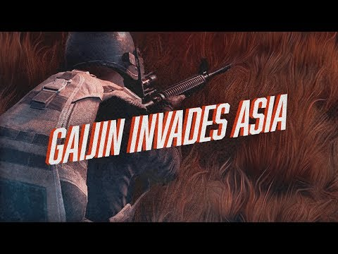 Firlthy Gaijin Invades Asia