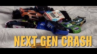 Disney Cars The Big Next Gen Crash Stop-motion