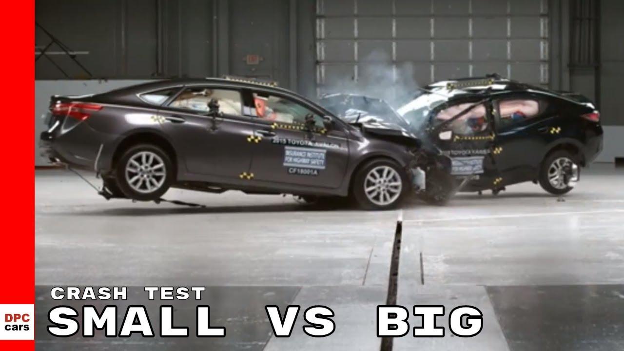 Small Car Vs Crash Test