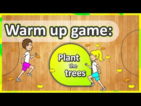 Warm Up Game: 'Plant The Trees' (K-6) | Teaching Fundamentals Of PE