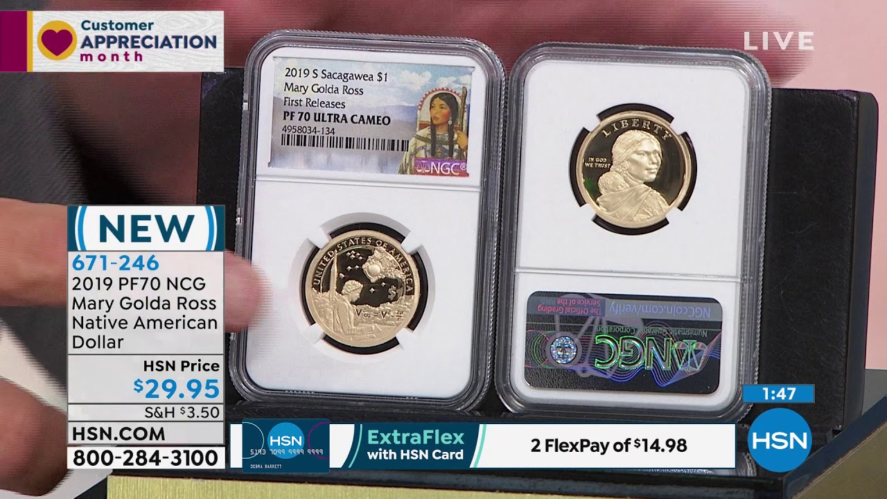 2019 PF70 NCG Mary Golda Ross Native American Dollar