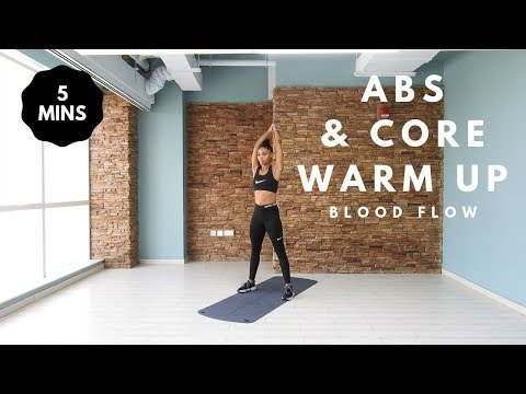 5 Minute Crunchless Core Workout