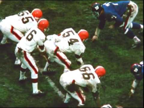 1968 Giants at Browns Game 12