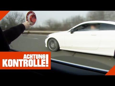Über 60km/h zu schnell! Extremer Mercedes-Raser bekommt drastische Strafe!   Achtung Kontrolle