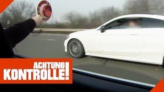 Über 60km/h zu schnell! Extremer Mercedes-Raser bekommt drastische Strafe! | Achtung Kontrolle