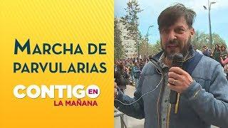 Marcha de Educadoras de Párvulo - Rafa Cavada | Crisis en Chile