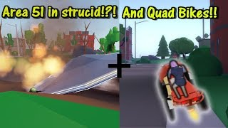 New Quad Crasher And Aliens in Strucid | Roblox Fortnite