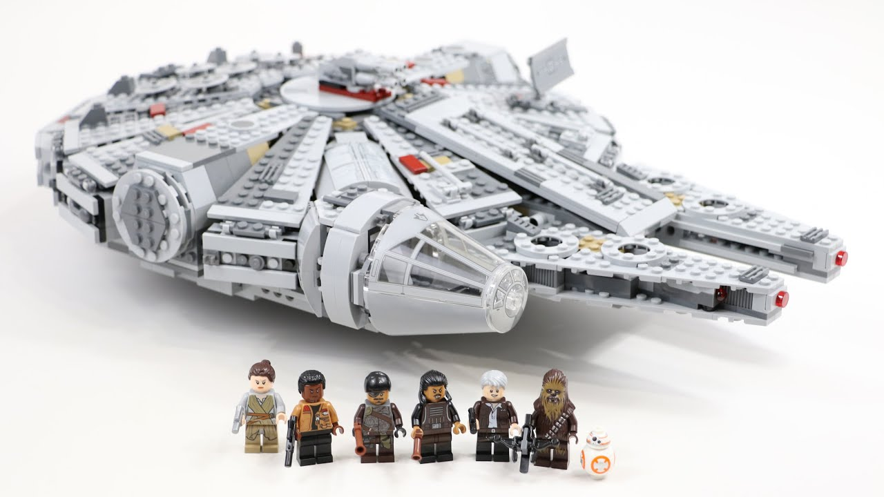 LEGO Star Wars Millennium Falcon 2015 Edition (Timelapse & Review ...