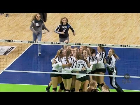 (5A) 2015 IGHSAU Iowa Farm Bureau Girls State Volleyball Cha