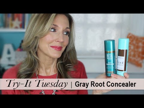 Try-It Tuesday ~ Gray Root Concealer