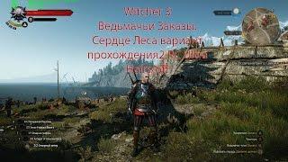 Witcher 3 Ведьмачьи Заказы: Сердце Леса вариант прохождения2 PC Ultra Hairs/off
