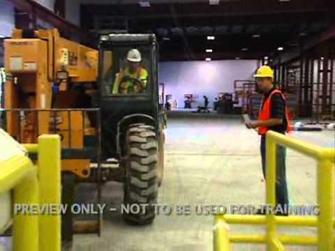 Forklift Workshop For Construction Spanish Youtube