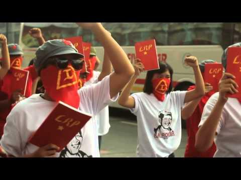 Underground activists stage Tribute-March for Filipino communist leader