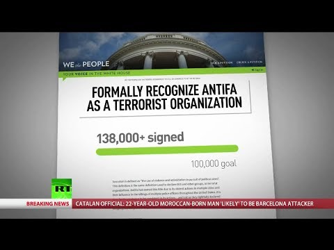 138k sign petition to recognize Antifa as terrorists