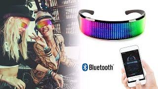 Full Color Led Glasses Sound Activated @untsmart(discount price)