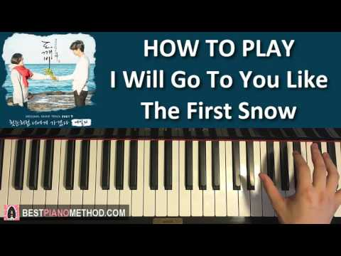 HOW TO PLAY - [Goblin 도깨비 OST Part 9]  Ailee - I Will Go To You Like The First Snow (Piano Tutorial)