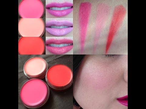 MAC Playland Collection - Casual Colors Hi Jinks, For Your Amusment, Young at Heart Review Swatches