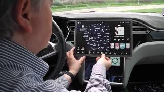 Displayvergleich: Tesla Model 3 zu Model S