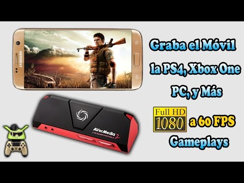 Graba Gameplays Del Móvil, PS4, Xbox One Y Más..!! AVerMedia Live Gamer Portable 2