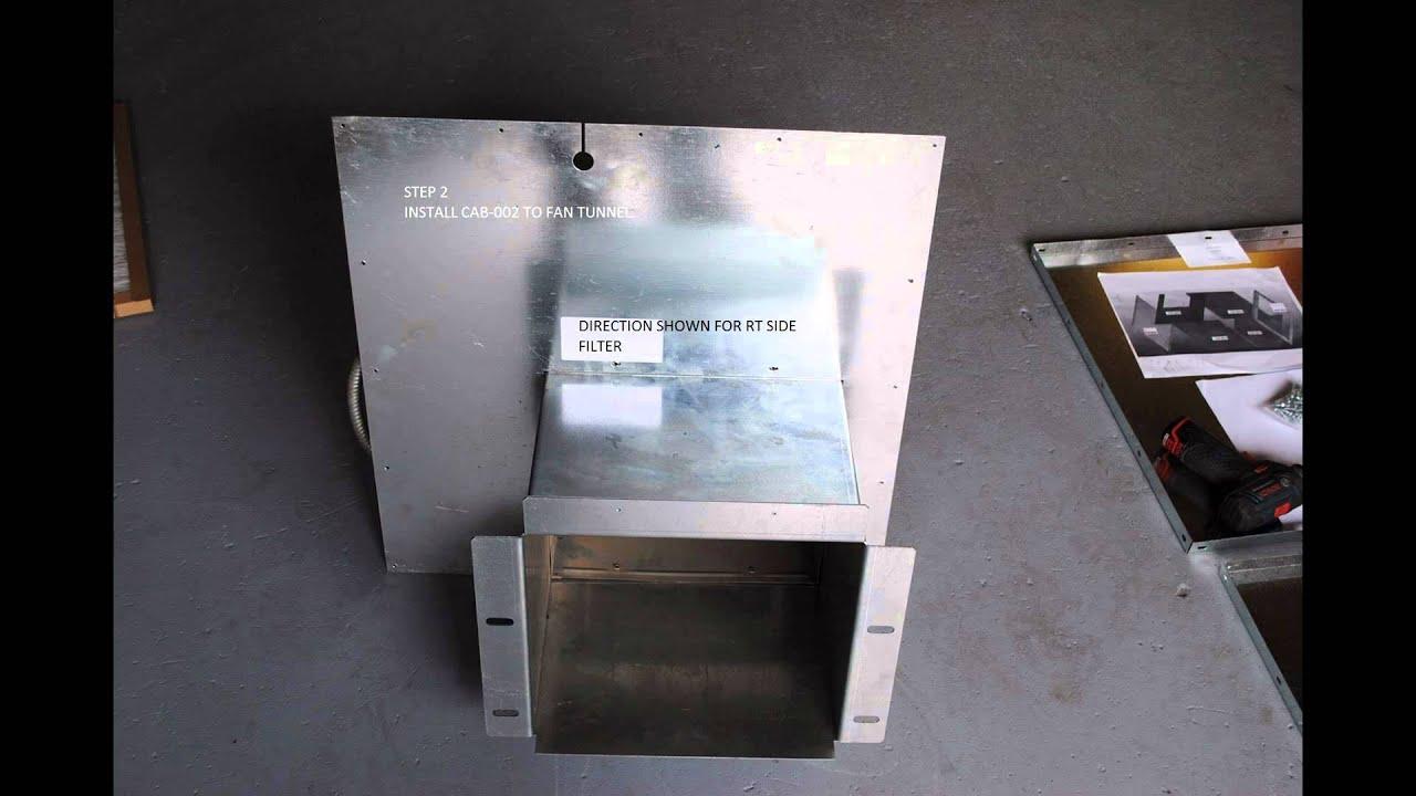 Furnace Return Box Assembly