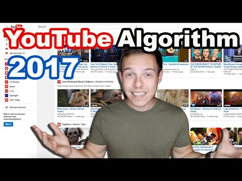 How to grow a YouTube Channel in 2017: YouTube Algorithm Revealed??
