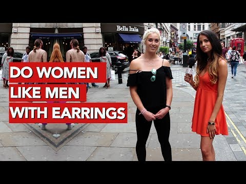 Do women like men with earrings?