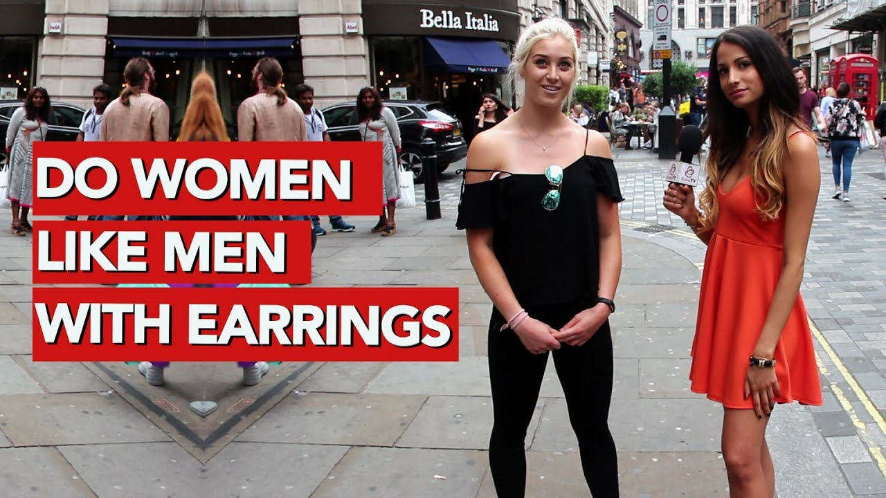9634141c5 Do women like men with earrings? - YouTube