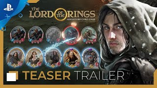 The Lord of the Rings: Adventure Card Game - Teaser Trailer | PS4