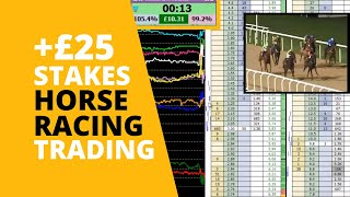 Horse Racing trading on Betfair - Small stakes, bigger profits!
