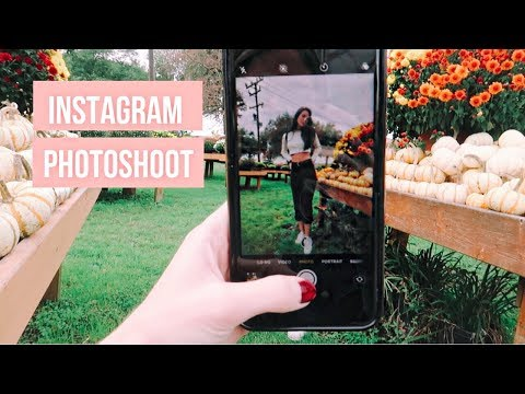 INSTAGRAM PHOTOSHOOT WITH MY SISTER & how i edit my photos!
