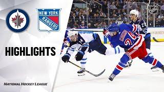 Jets @ Rangers 10/03/19 Highlights