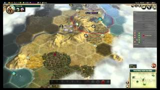 Civilization 5 Multiplayer #10 BNW Part 1 - Sejong of Korea