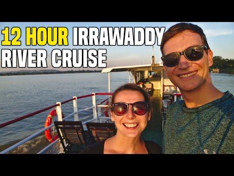 Irrawaddy River Cruise Burma (Myanmar) (Bagan To Mandalay By SLOW BOAT)   Myanmar Travel