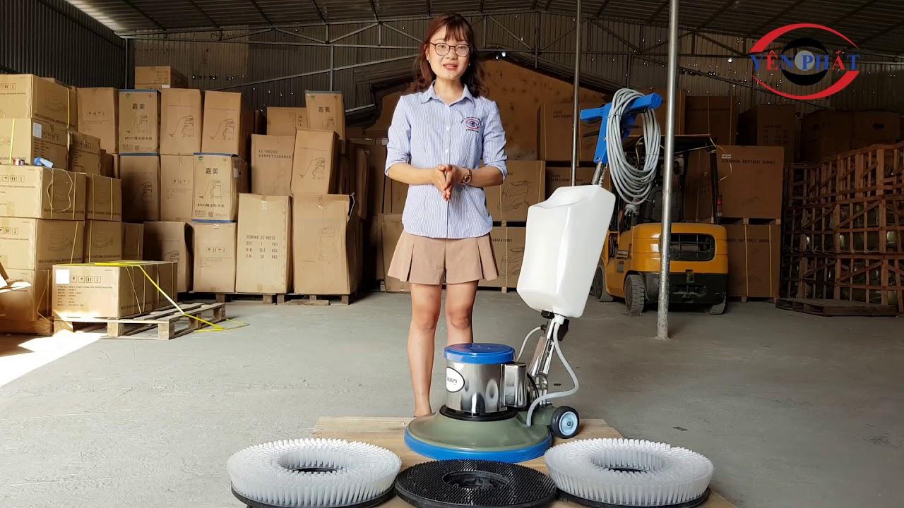 Máy chà sàn giặt thảm Camry BF 522 công suất 1100W - YouTube
