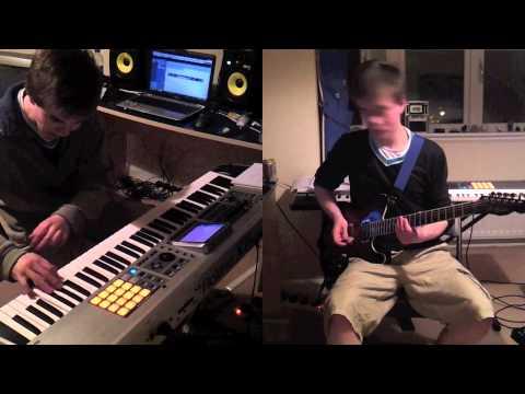 Keyboard Guitar Battle! (Test video)