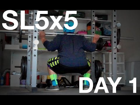 Intro Day   StrongLifts 5x5 Day 1